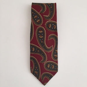 Jos. Banks Executive Collection 100% Paisley Tie